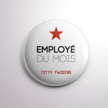 Badge Titty Twister