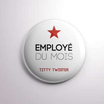 Badge Titty Twister