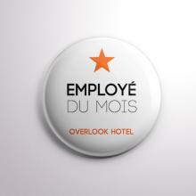 Badge Overlook Hotel