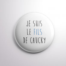 Badge Le Fils de Chucky
