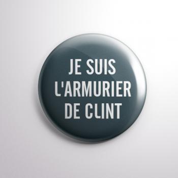 Badge L'Armurier de Clint