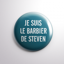 Badge Le Barbier de Steven