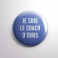 Badge Le Coach d'Idris