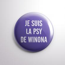 Badge La Psy de Winona
