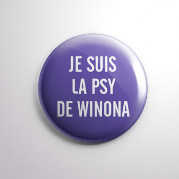 Badge La Psy de Winona