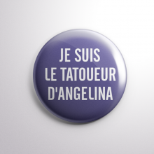 Badge Le Tatoueur d'Angelina