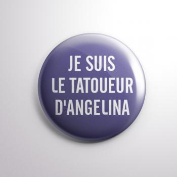 Badge Le Tatoueur d'Angelina