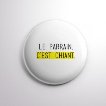 Badge Le Parrain
