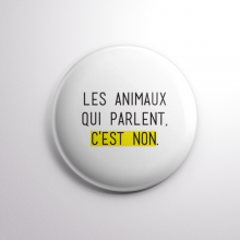 Badge Les Animaux