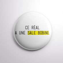 Badge Sale Bobine