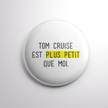 Badge Tom Cruise