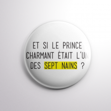 Badge Prince Charmant