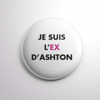 Badge L'ex d'Ashton