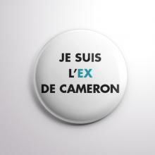 Badge L'ex de Cameron