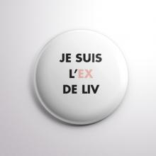 Badge L'ex de Liv
