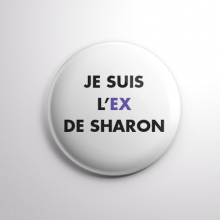 Badge L'ex de Sharon