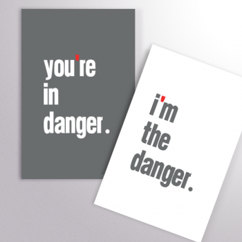 Duo Carnets you're in danger