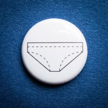 Badge Culotte Blanche G