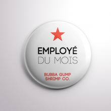 Badge Bubba Gump