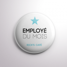 Badge Rick's Café