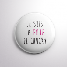 Badge La Fille de Chucky
