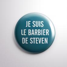 Badge Le Barbier de Steven