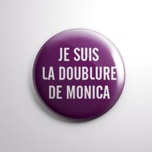 Badge La Doublure de Monica