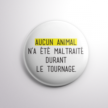 Badge Aucun Animal