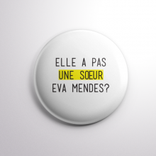 Badge Eva Mendes