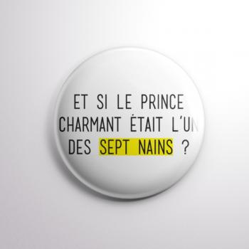 Badge Prince Charmant