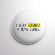 Badge I Speak Fluently