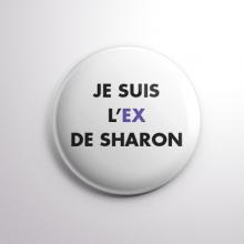 Badge L'ex de Sharon