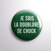 Badge La Doublure de Chuck