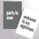 Duo Carnets party is over